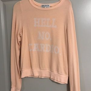 Wild fox cotton pull over
